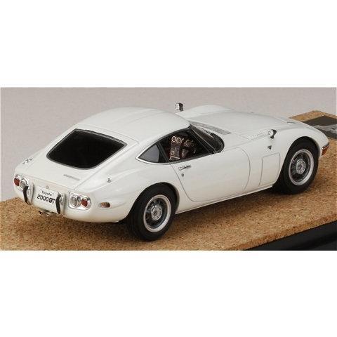 トヨタ 2000GT (MF10) 後期型 ホワイト (1/43 マーク43 PM4363BW)|v-toys|02