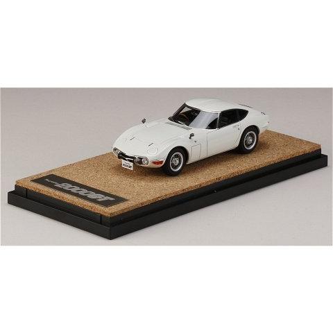 トヨタ 2000GT (MF10) 後期型 ホワイト (1/43 マーク43 PM4363BW)|v-toys|03