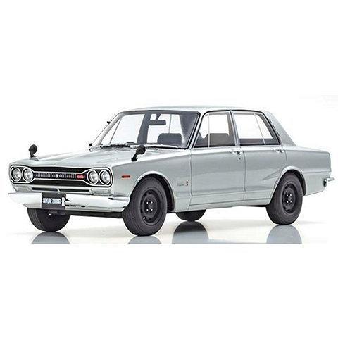 ニッサン スカイライン 2000GT-R PGC10 シルバー (1/18 京商KSR18050S)|v-toys