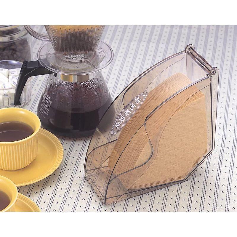 下村企販 コーヒーフィルターケース ホルダー 日本製 100枚収納 蓋付き 5~7人用対応 17037 珈琲倶楽部 燕三条|vagaluna1|06