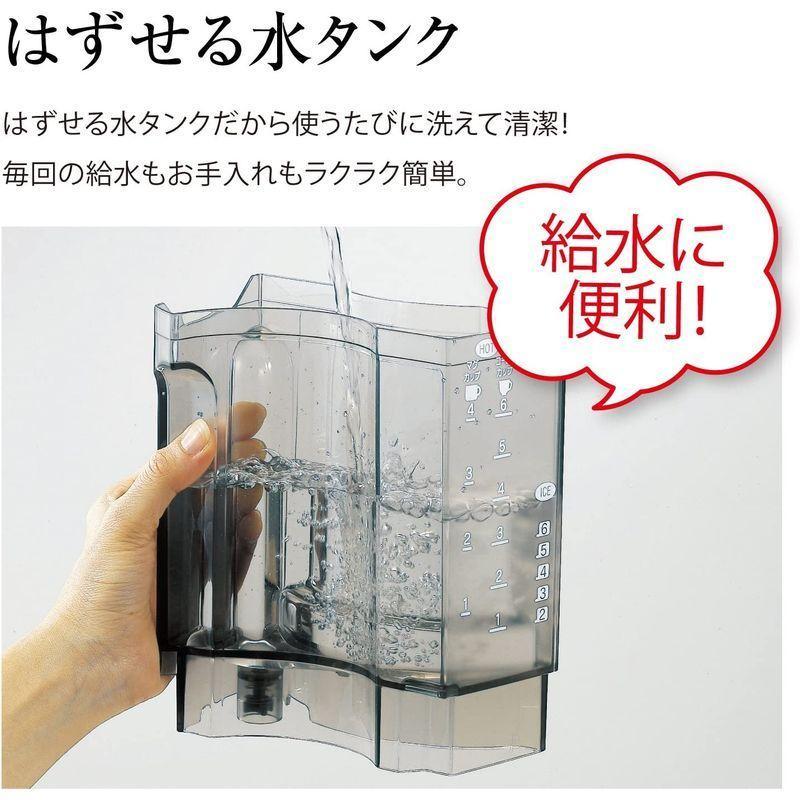 象印 コーヒーメーカー 6杯用 メッシュフィルター付 EC-AS60-XB|vagaluna1|03
