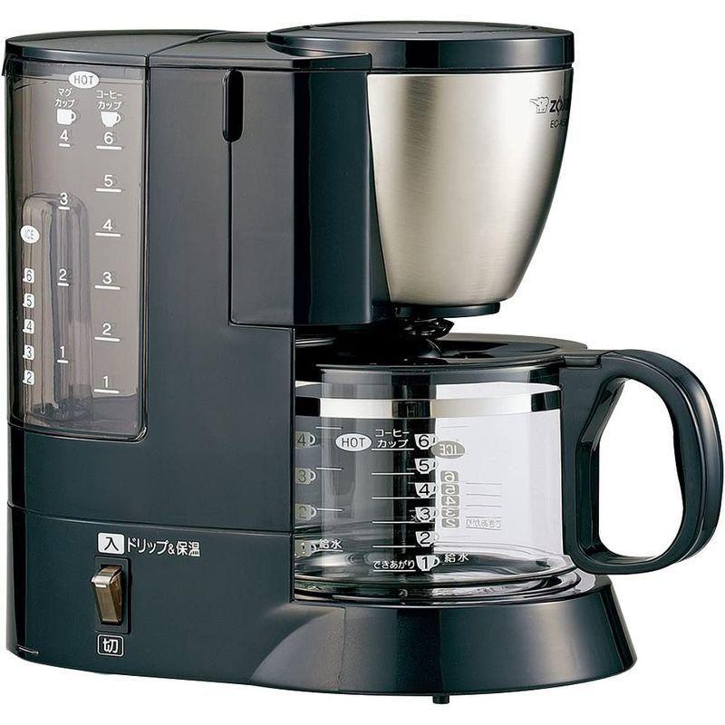 象印 コーヒーメーカー 6杯用 メッシュフィルター付 EC-AS60-XB|vagaluna1|06