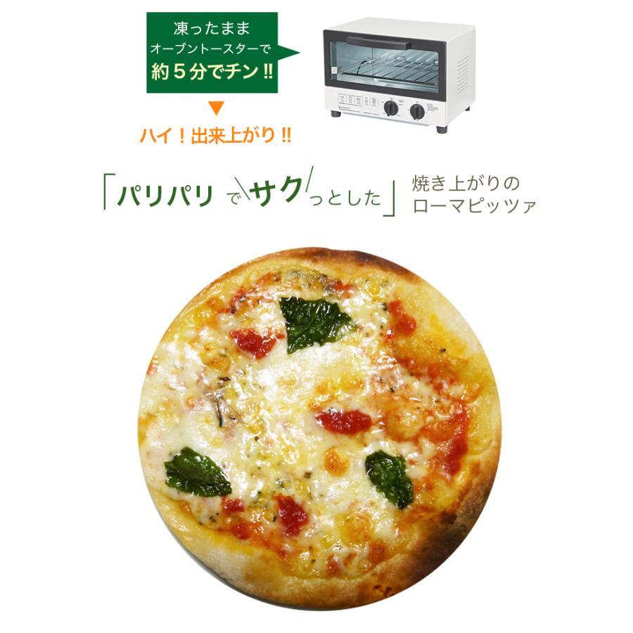 ピザ マルゲリータ 本格ピザ 15cm イタリアの小麦粉を使用したシェフ自慢の手作り本格ピザ クリスピー 冷凍ピザ 無添加 チーズ セルロース不使用 vallata 14