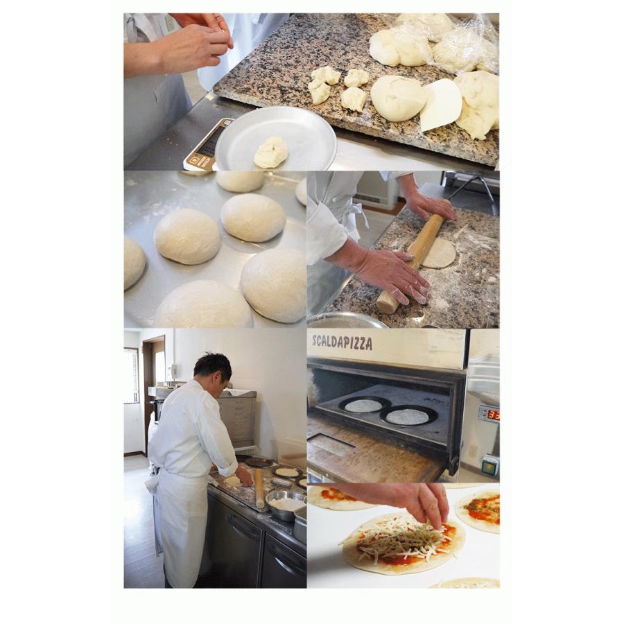 ピザ ペスカトーレ 本格ピザ 15cm イタリアの小麦粉を使用したシェフ自慢の手作り本格ピザ シーフード クリスピー 冷凍ピザ 無添加 チーズ セルロース不使用|vallata|12