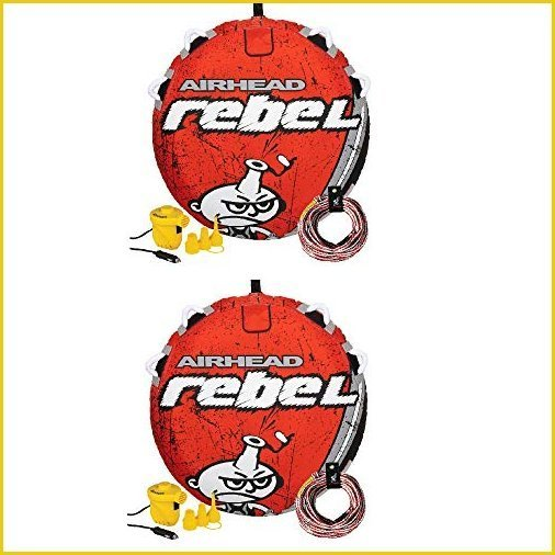 Airhead Rebel 54In 1 Person Red Towable Tube ...