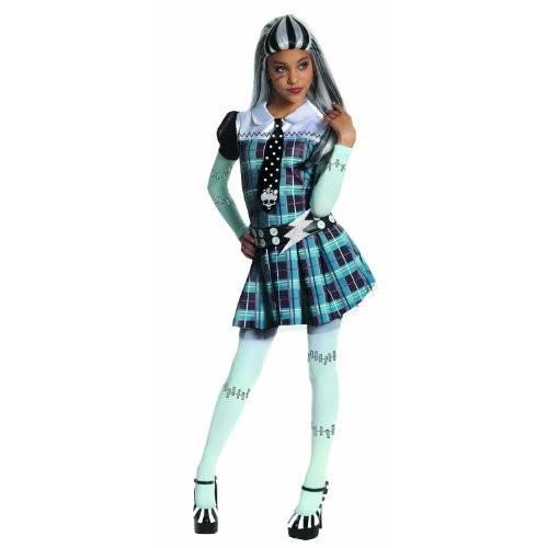 Monster High Frankie Stein モンスターハイフランキースタインチャイルドハロウィンコスチューム