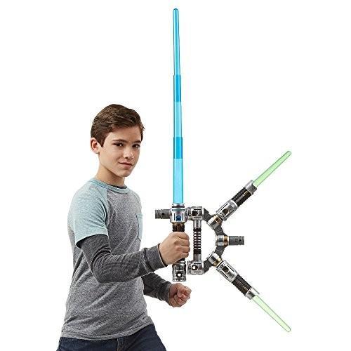 Star Wars Bladebuilders Jedi Master Lightsaber スターウォーズブレードビルダージェダイマスターライト