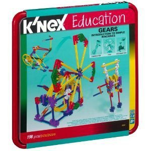 K'Nex Education Intro To Simple マシーン - Gears - 1 98 ピース