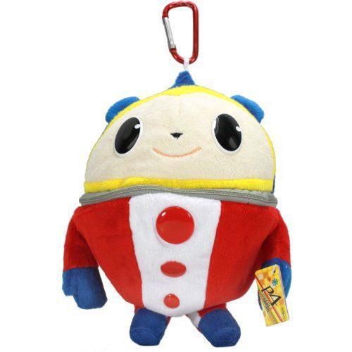 Persona 4 the Animation Plush Pouch - Smiling Teddie / Kuma ぬいぐるみ
