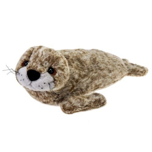 Bulk Buys 17 in. Harbor Seal with Picture Hang Tag - Case of 12 ぬいぐるみ