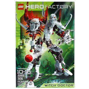 レゴ LEGO ヒーローファクトリー ウィッチドクター 2283 Hero Factory Witch Doctor 2283