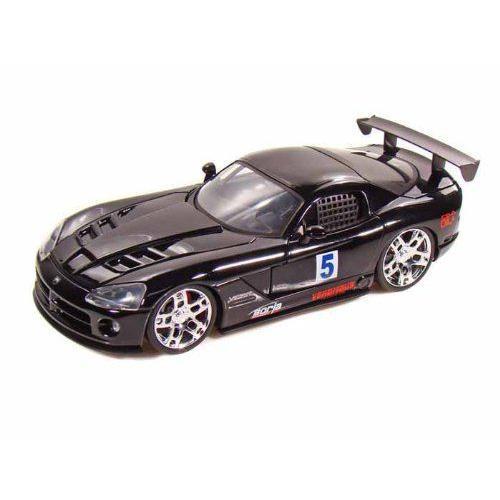 ダイキャストカー 2008 ダッジ バイパー SRT10 Track ブラック 1/24