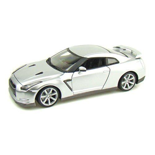 ダイキャストカー 2009 日産 スカイライン GT-R シルバー 1/18