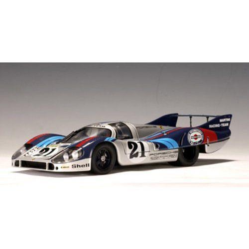 ダイキャストカー 1971 ポルシェ 917L NO21 ルマン レーシングカー 1/18