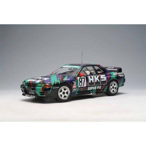 ダイキャストカー 日産 スカイライン GT-R R32 Group A 1993 HKS Skyline No87 1/18
