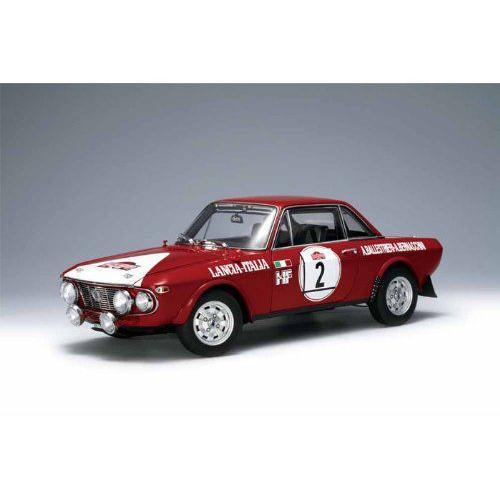 ダイキャストカー ランチア フルビア 1.6HF 1/18 1972 Winner of Rally Sanremo #2