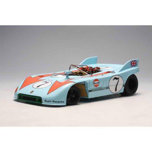 ダイキャストカー ポルシェ 908/03 Targa Florio 1971 赤man/Sieffert No7 1/18