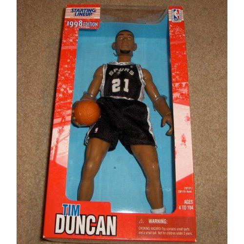 ティム ダンカン スパーズ  1998 12 Inch Fully Poseable NBA Starting Lineup Figure