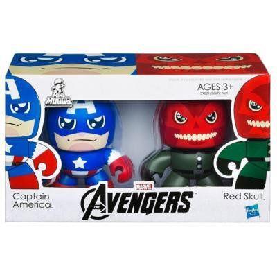 Marvel Avengers Mini Muggs/アベンジャーズ ミニマグ2体[キャプテンアメリカ&レッドスカル]
