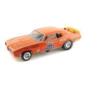 1969 Pontiac GTO Super Judge Arnie Beswick 1/18 オレンジ