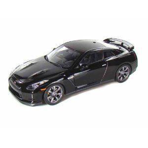 Nissan GT-R 1/18 黒