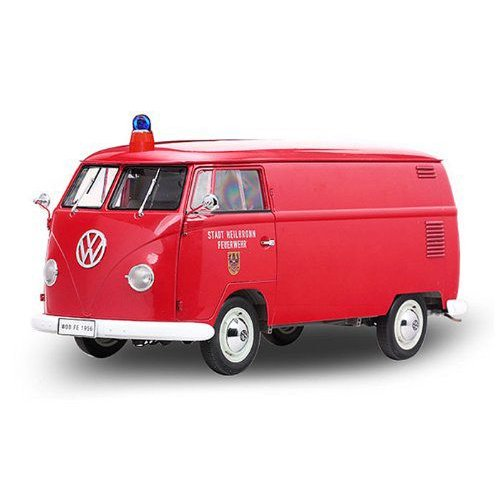 1956 VolksWagen Fire Engine Bus 赤 1/12 ダイキャストモデルカー