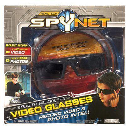 SPY NET スパイネット ステルスビデオレコードグラス