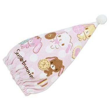[Bunnies] colorful Cap towel Sanrio school preparation series