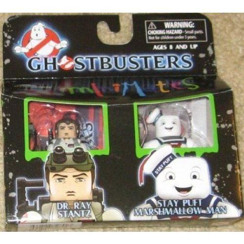 Ghostbusters ゴーストバスターズ Minimates Dr. Ray Stantz & Stay Puft Marshmallow Man フィギュア ダ