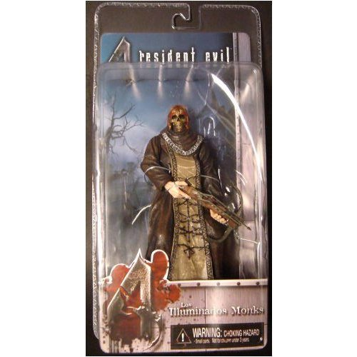NECA ネカ Resident Evil 4 Series 2 Action Figure 黒 Zealot with Skull and Crossbow フィギュア