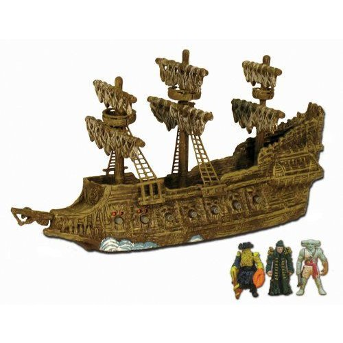 Pirates of the Carribean: Pirate Fleet Flying Dutchman with Davy Jones, Bootsrap Bill, and Maccus