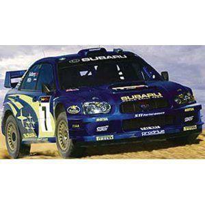 Heller Subaru Impreza WRC '03 Car Model Building Kit プラモデル 模型 モデルキット おもちゃ