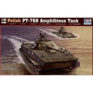 Trumpeter Tru00382 1:35 - Polish Pt-76B Amphibious Tank Model Kit プラモデル 模型 モデルキット お