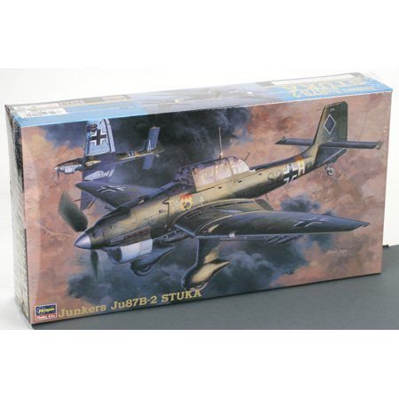 HASEGAWA 09113 1/48 Junkers Ju87B-2 Stuka プラモデル 模型 モデルキット おもちゃ