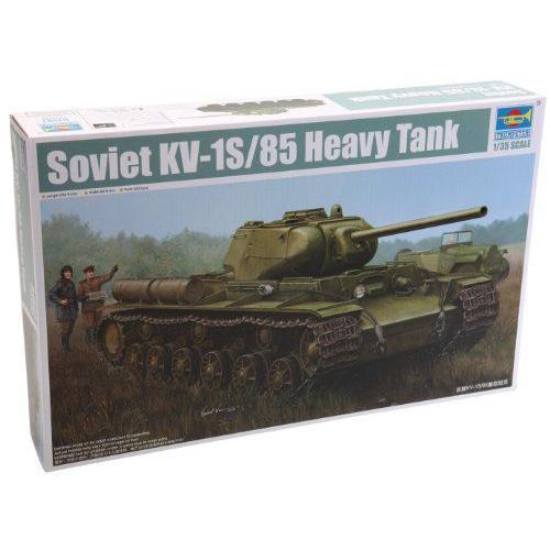 Trumpeter KV-1S/85 Soviet Heavy Tank Model Kit, Scale 1/35 プラモデル 模型 モデルキット おもちゃ