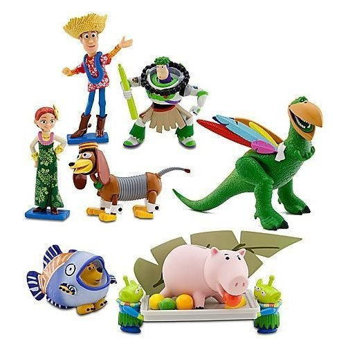 Disney ディズニー Toy Story Hawaiian Vacation Deluxe 7 Figurine Set フィギュア 人形 おもちゃ