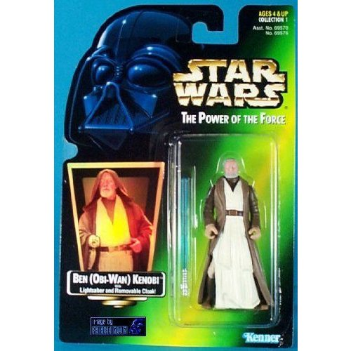 Star Wars スターウォーズ the Power of the Force Ben Kenobi フィギュア 人形 おもちゃ