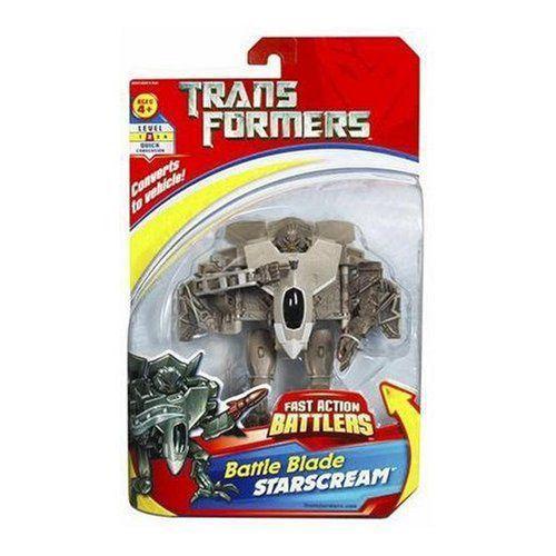 Transformers トランスフォーマー Fast-Action Battlers Battle Blade Starscream フィギュア 人形 おも