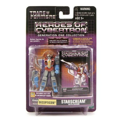 Transformers トランスフォーマー Heroes of Cybertron Generation One Collection: Decepticon Starscre