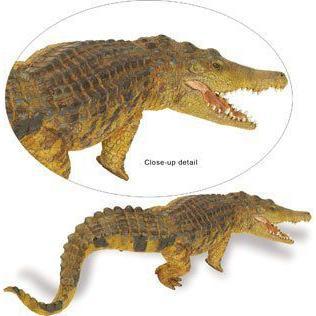 Safari 262629 Saltwater Crocodile Animal Figure- Pack of 2 フィギュア 人形 おもちゃ