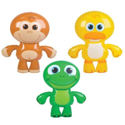 Animal Bunch Inflatables (1 dz) フィギュア 人形 おもちゃ