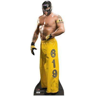 Life Size WWE プロレス Standee - Rey Mysterio フィギュア 人形 おもちゃ