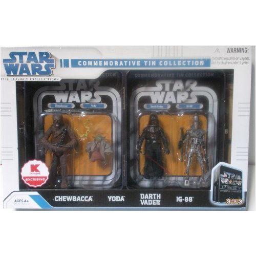 Star Wars スターウォーズ Commemorative Tin Collection (Chewbacca, Yoda, Darth Vader, IG-88) 3 of 3
