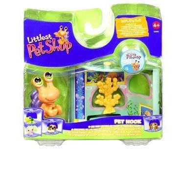 Littlest Pet Shop リトルペットショップ Pet Nook - Hermit Crab in Aquarium フィギュア 人形 おもちゃ