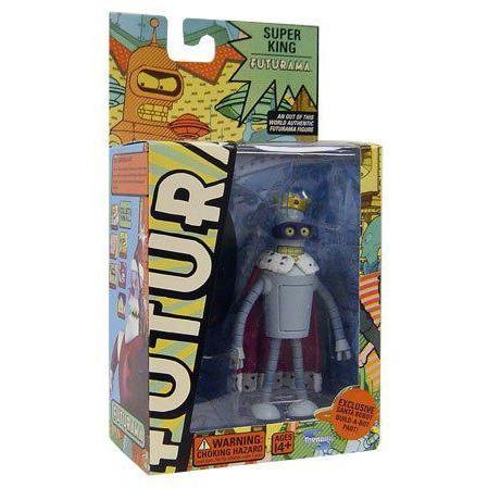 Futurama Toynami Series 5 アクションフィギュア Super King Bender フィギュア 人形 おもちゃ