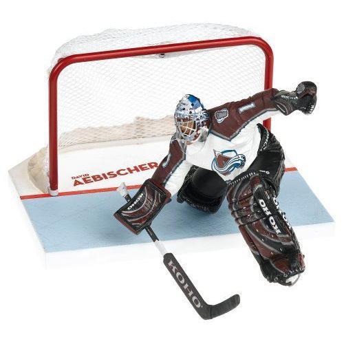 McFarlane マクファーレン Toys NHL Sports Picks Series 10 アクションフィギュア David Aebischer (Col