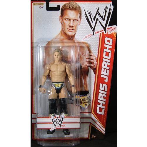 CHRIS JERICHO - WWE プロレス SERIES 22 TOY WRESTLING アクションフィギュア 人形 おもちゃ