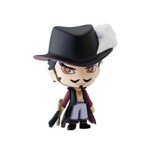 One Piece: Ocean 青 Deformeister Petit Trading Figure: Dracule Mihawk フィギュア 人形 おもちゃ