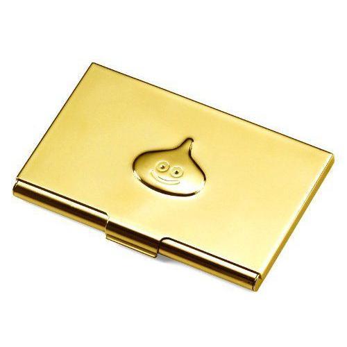 Smile Slime Card Case ゴールド ms(Metal Slime) フィギュア 人形 おもちゃ