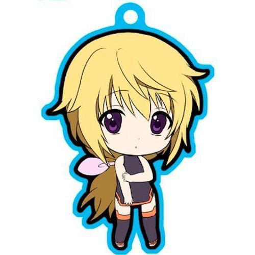 IS (Infinite Stratos) Metal Key Ring Charlotte (IS Suit) フィギュア 人形 おもちゃ
